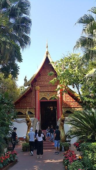 Architecture of Thailand - Wat Phra Kaew, Chiang Rai, Thailand