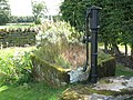 Water pump and trough at Standing Stone Farm - geograph.org.uk - 617349.jpg