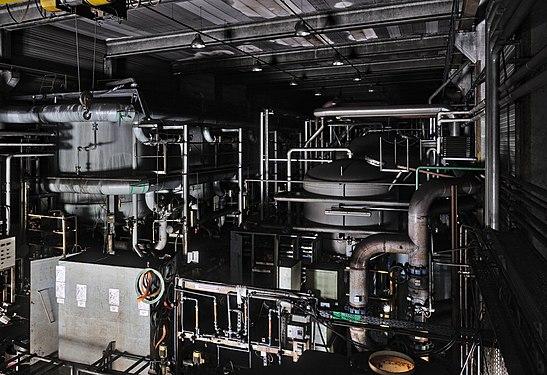 Water treatment plant in an abandoned steel factory in Oupeye, Belgium (DSCF3285).jpg