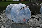 Water zorbing at Project MUNICH2014 - Mia san Giga! in Munich, Bayern.JPG