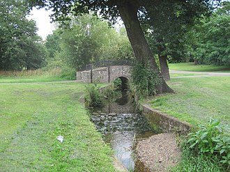 Watling Park - Image: Watling Park Silk Stream
