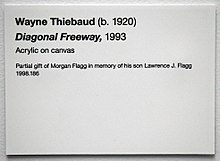 Museum label wikipedia for Exhibit label template