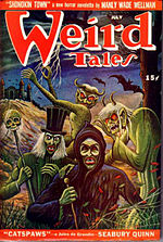 Weird Tales cover image for July 1946