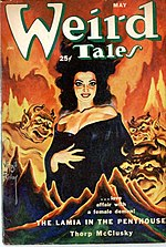 Weird Tales cover image for May 1952