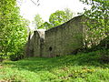 Weischlitz Burgsteinruinen untere Kirche von Nordwest.jpg