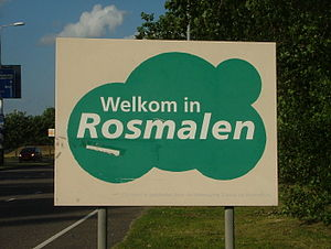 Rosmalen - Image: Welkom in Rosmalen