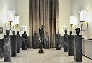 National Resistance Museum, Luxembourg - Image: Wercollier Prisonnier politique Luxembourg Esch Musée résistance 01