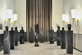 National Resistance Museum, Luxembourg - Wercollier's Le prisonnier politique