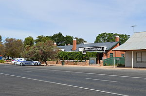 "Werrimull - Werrimull Hotel, the ""most outback pub in Victoria"""