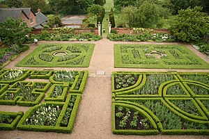 Doddington Hall, Lincolnshire - West Garden