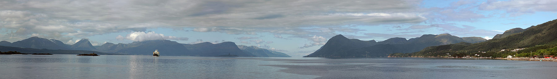 Fjords and coast near Molde