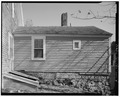 West elevation of ell. View looking east. - Horace Webster House, 39 Central Street, Franklin, Merrimack County, NH HABS NH,7-FRANK,6-6.tif