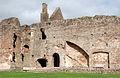 West wall of The Hall, Raglan Castle - geograph.org.uk - 1531270.jpg