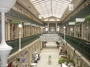 Westminster Arcade - Interior as seen from the second floor (2005)