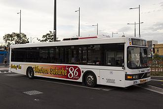 ComfortDelGro Australia - Westrans Volgren bodied Volvo B7L at Sunshine station in December 2013