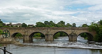 Wetherby Bridge - Image: Wetherby Bridge from the West (Taken by Flickr user 17th June 2012)
