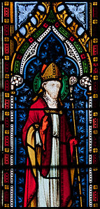 Wexford Church of the Immaculate Conception South Aisle Window Saint Laurentius O Toole Detail 2010 09 29.jpg