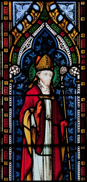 Lorcán Ua Tuathail - Image: Wexford Church of the Immaculate Conception South Aisle Window Saint Laurentius O Toole Detail 2010 09 29
