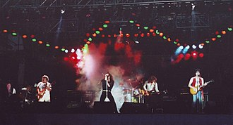 Whitesnake - Whitesnake at the Reading Festival in Reading, Berkshire, England, 1980