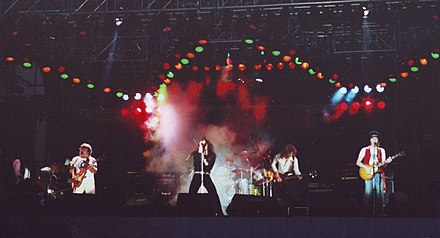 Whitesnake at the Reading Festival in Reading, Berkshire, England, 1980 Whitesnake-1980.jpg