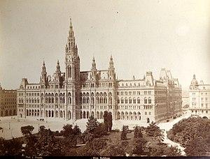 Rathaus, Vienna - Image: Wiener Rathaus J.Stauda