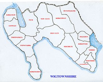 Wigtownshire - Civil parishes within Wigtownshire