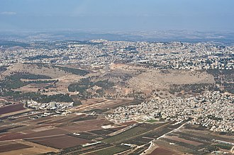 Nazareth Illit - Image: Wiki Air Flight IL 13 09 058