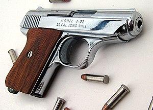 Jimenez Arms - Jennings J-22 pistol in .22LR caliber.