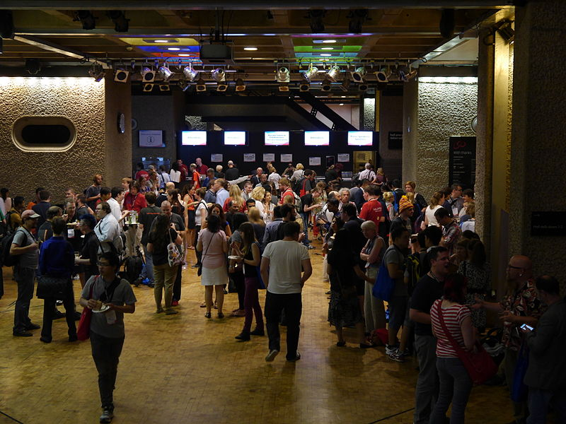 File:Wikimania 2014 welcome reception 02.jpg