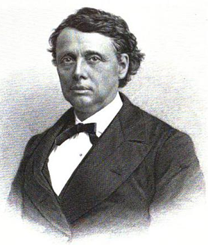 Alexander H. Rice - William Gaston, engraved portrait published 1895