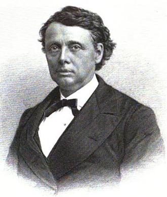 Alexander H. Rice - William Gaston, engraved portrait published 1895