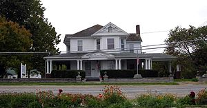 Schuyler County, Missouri - The former Lancaster home of William Preston Hall, now the Schuyler County Historical Society museum.