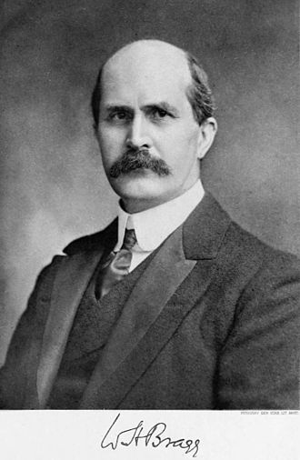 William Henry Bragg - Image: William Henry Bragg Nobel bw
