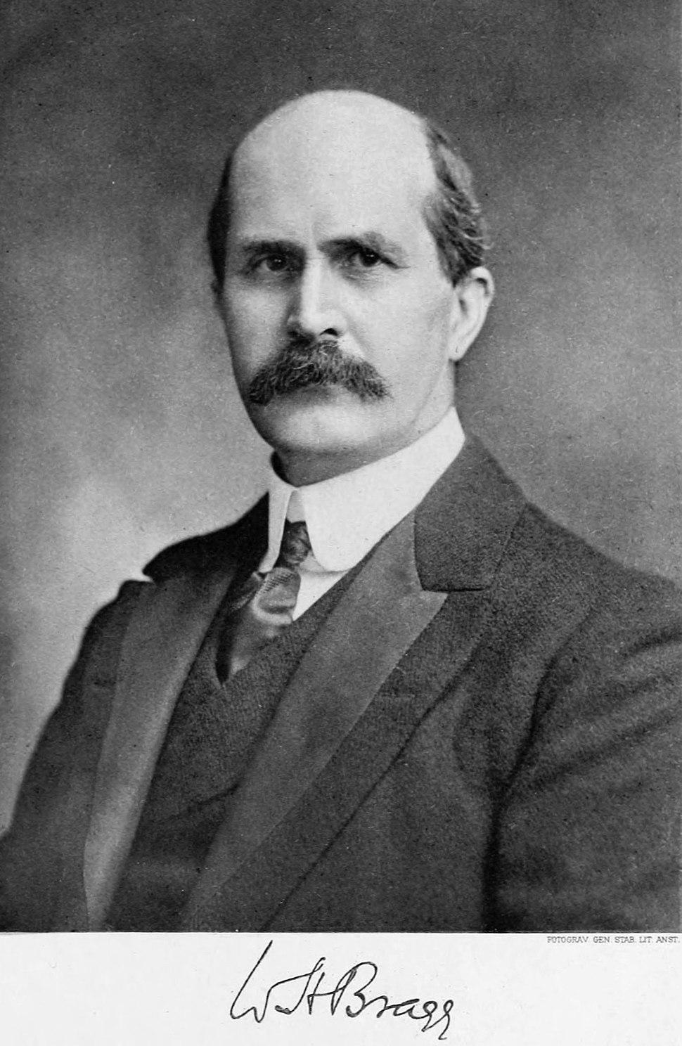 William Henry Bragg Nobel bw