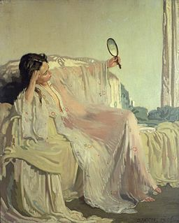William Orpen The Eastern Gown