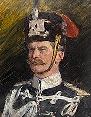 Portraitstudie August v. Mackensen, Preußischer Generalfeldmarschall