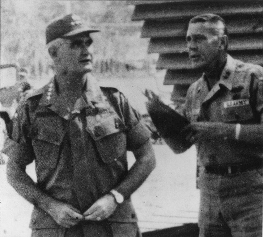 File William Westmoreland Amp John H Hay Jr In Vietnam