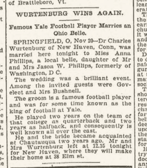 William Wurtenburg - Image: William Wurtenburg wedding