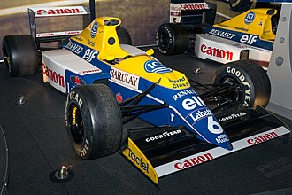 Williams FW13 - Image: Williams FW13B front right 2017 Williams Conference Centre