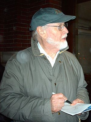 John Williams - Williams signing an autograph after a concert
