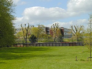 Derby College - The former Wilmorton College in April 2005