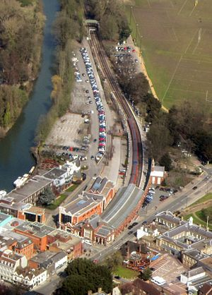 Windsor & Eton Riverside railway station - Image: Windsor & Eton Riverside railway station