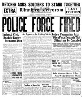 <i>Winnipeg Telegram</i> Former newspaper in Manitoba