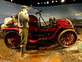 Winton touring car 'Vermont', 1903, automobile used for first motor trip across the United States - National Museum of American History - DSC08482.JPG