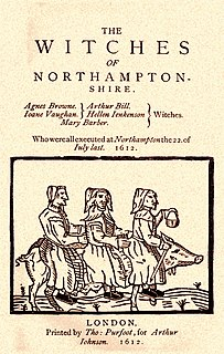 Northamptonshire witch trials
