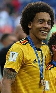 Axel Witsel Belgian footballer