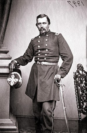 History of the Poles in the United States - Colonel Krzyzanowski, who fought in the 1848 uprising, served as a Union general in the American Civil War