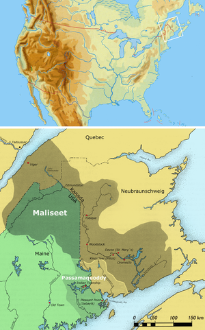 Maliseet & Passamaquoddy Territory