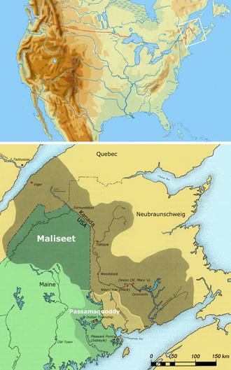 Maliseet - Maliseet Territory
