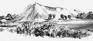 London and Birmingham Railway - Making the embankment - Wolverton Valley, 28 June 1837.